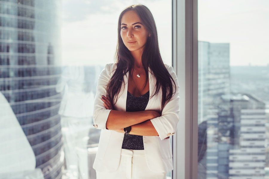 Key Man Life Insurance - Woman Taking Control of Her Business
